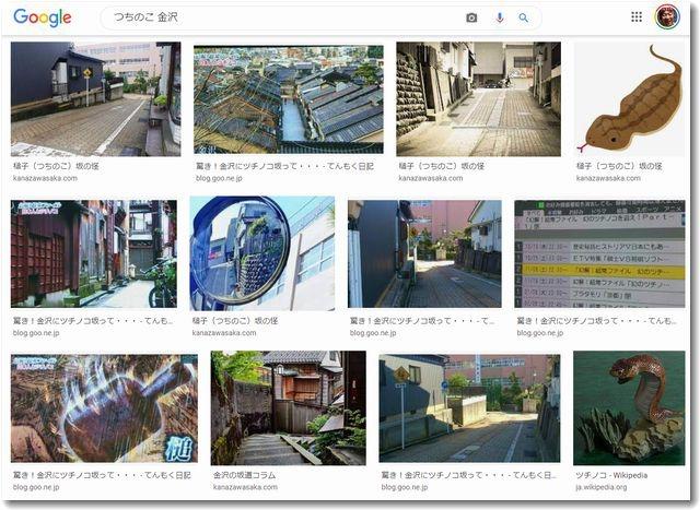 「つちのこ 金沢」を検索した結果