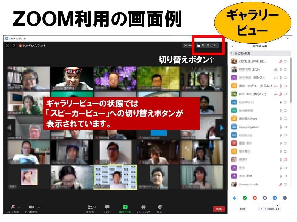 背景 Zoom 動画